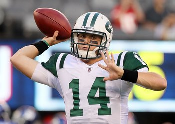 Could Greg McElroy be a better option at quarterback for the Jets than both Tim Tebow and Mark Sanchez?
