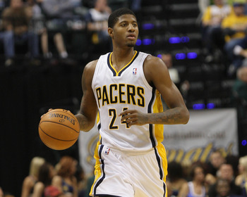 Indiana Pacers' Paul George.
