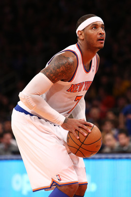 Anthony has been the only Knick to consistently earn trips to the stripe.