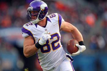 After a disappointing three-week stretch, Kyle Rudolph has caught TDs in consecutive games.