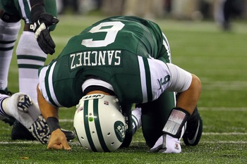 Mark Sanchez and Jets await the Cardinals in New York next week.