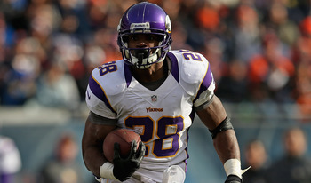 Adrian Peterson is going to be a huge issue for Green Bay this weekend