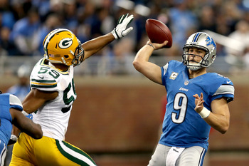 The Packers barely took down the Lions in their first meeting this season.