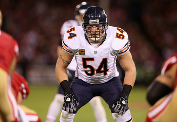 Brian Urlacher and the Chicago Bears defense have been very strong this season