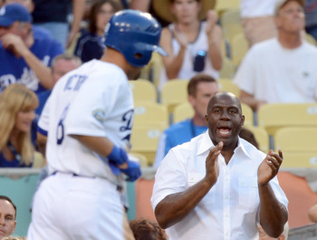Magic Johnson and Guggenheim Baseball Management purchased the team in March of 2012.