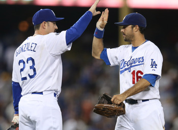 The Dodgers look to improve their NL West record of 35-37.