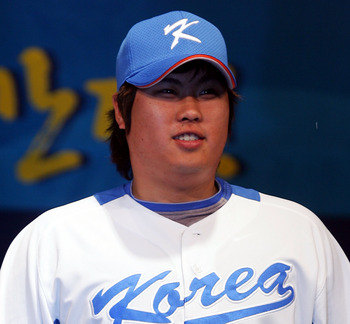 The Dodgers hope the Korean left-hander could be a starter in 2013.