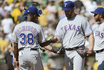 Ryan Dempster got shelled in his last start with the Rangers in 2012.
