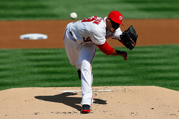 Edwin Jackson has a career record of 70-71 with a 4.40 ERA.