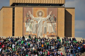 The Big Ten has long wanted Notre Dame to join the conference.