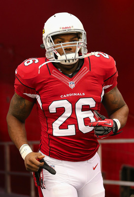 Beanie Wells ran for 1,057 yards last year, and the Cardinals were still among the worst rushing teams in the NFL.
