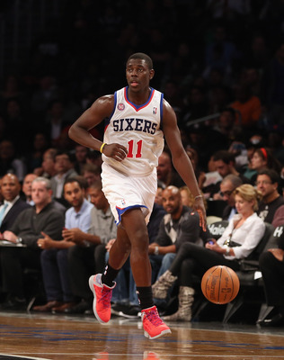 In Andrew Bynum's absence, Jrue Holiday has to be the guy in Philadelphia.