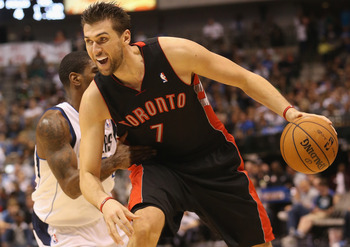 Andrea Bargnani can cause problems for New York if he can regain his stroke.