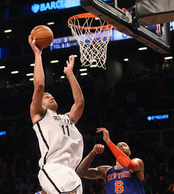 Brook Lopez proved both blessing and curse in Brooklyn's first bout with the Knicks.