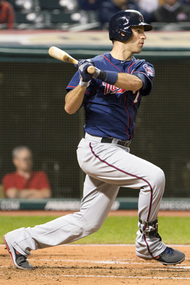 Though he lacks power, Joe Mauer would fit well at first base.