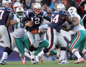 The Dolphins are nine point home underdogs to Tom Brady.