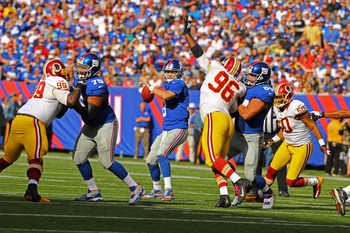 Eli Manning and the Giants want to open a bigger cushion in NFC East.