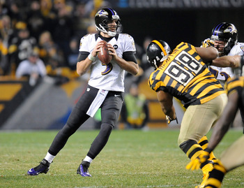 Joe Flacco wants to see the Ravens sweep the Steelers again.