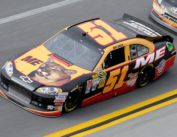 "Kurt Busch's ""Ricky Bobby"" scheme was the best of the 2012 season"