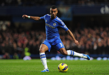 Ashley Cole is not the first choice, but he'd be the best
