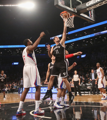 Brook Lopez is known as a generally weak rebounder for a seven footer