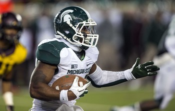The Spartans' hopes ride on this guy again next year.