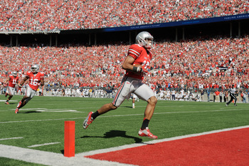 Devin Smith provides the game-winning score, his second TD of the game, with under four minutes to play.