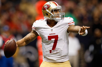 Colin Kaepernick could be a huge asset down the stretch.