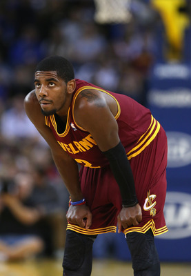 The Cleveland Cavaliers will be without Kyrie Irving, whose broken finger will keep him out for roughly a month.
