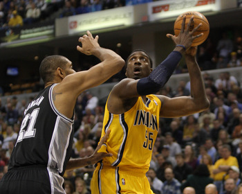 Roy Hibbert is emblematic of the Pacers' struggles.