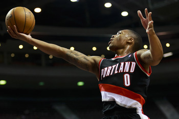Damian Lillard is part of a young nucleus in Portland.