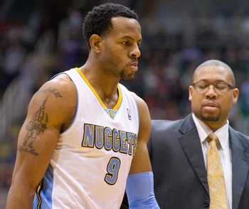Andre Iguodala isn't enough superstar to make Denver a true contender.