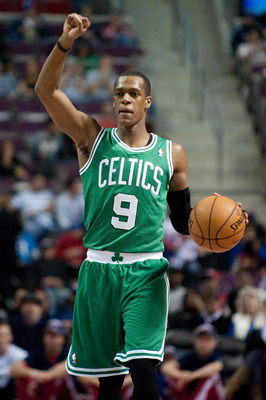 Rajon Rondo is averaging 13.7 assists per game for Boston.