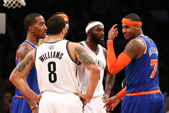 Led by Deron Williams, things are heated in Brooklyn.