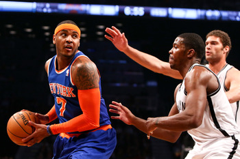 Carmelo Anthony may have to be the league's MVP if New York can win a title.