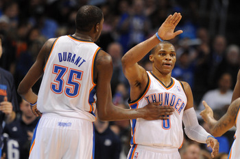 Kevin Durant and Russell Westbrook create one of the league's finest duos.