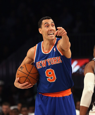 Prigioni has not sufficient minutes to properly judge his performance.