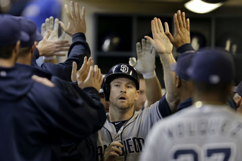 Chase Headley had a breakout year in 2012, driving in 115 runs.
