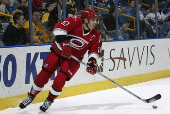 Ron Francis wound up his career with the Hurricanes.