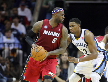 The Heat's size issues inside put more pressure on LeBron James to dominate Rudy Gay.