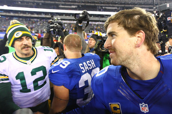Eli Manning got the best of Aaron Rodgers in Week 12.