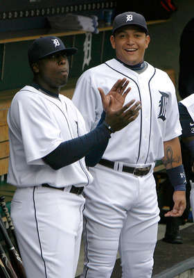 The Marlins traded Miguel Cabrera, right, and Dontrelle Willis to Detroit.