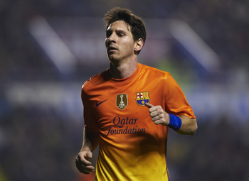 Messing Around: Messi scores for fun at Barcelona