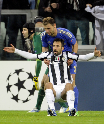 You won't score like that! Vucinic struggles to find the net in big games