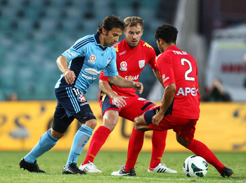 Down Under: Del Piero enjoying life in Australia's A-League
