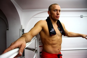 Georges St-Pierre (credit: Brian Petchers)