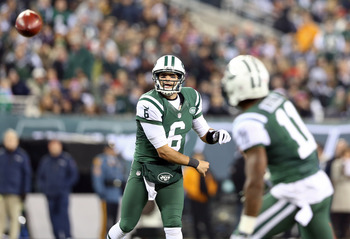 The 2012 season has been a disappointing one for Mark Sanchez.
