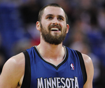 Minnesota Timberwolves' Kevin Love