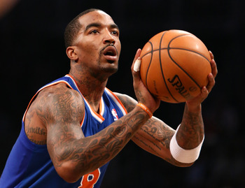 New York Knicks' J.R. Smith