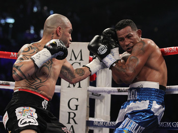 Cotto will win if he can keep the fight on the ropes.